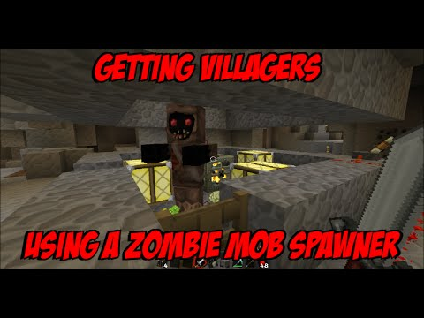 Minecraft turning a zombie mob spawner into a villager spawner minecraft turning a zombie mob spawner into a villager spawner sciox Images