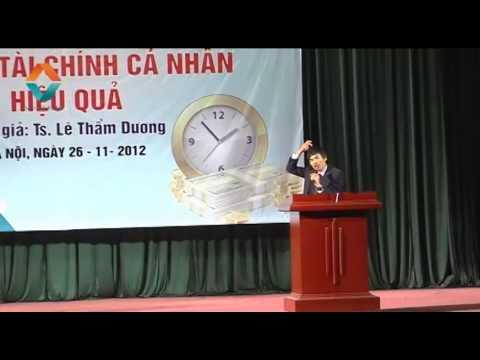 Trailer Quản lý tài chính cá nhân - TS Lê Thẩm Dương