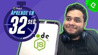 Aprende algo en 32 segundos (o menos) | Crear servidor con Node y Express