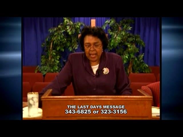 Last Days Message 18 8 6 8 12