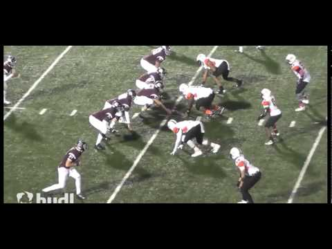 Austin Williams Class of 2016 PCO Pirates Football Highlights