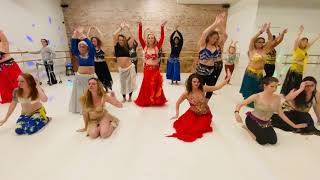 Belly Dance to Momentum - Part 1