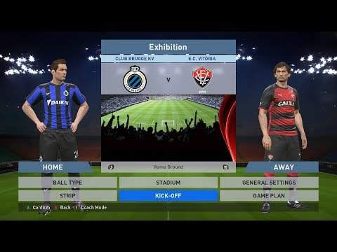 Club Brugge KV vs E.C. Vitoria, Jan Breydel Stadion, PES 2016, PRO EVOLUTION SOCCER 2016