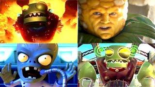 Plants vs. Zombies: Garden Warfare 2 - Full Movie / All Cinematic Cutscenes