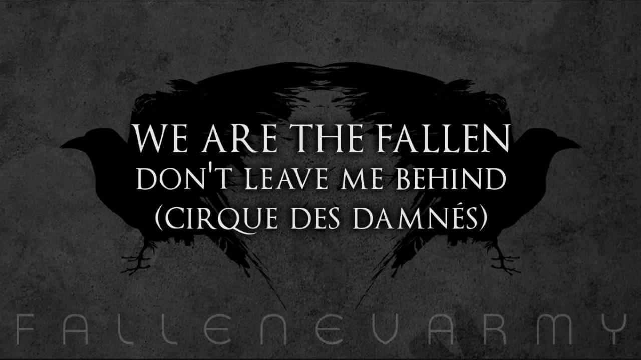 We Are the Fallen Chords