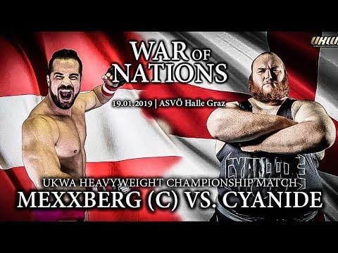 Mexxberg(c) Vs Cyanide, UKWA War Of Nations 2019