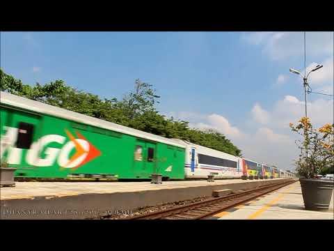 Kompilasi 1 : 90km/h Kereta api Indonesia