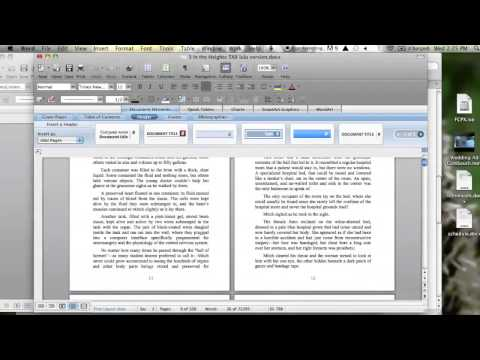 How to Format a Manuscript for Self Publishing