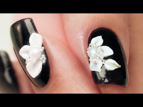 3d Acrylic Petals Nail Art
