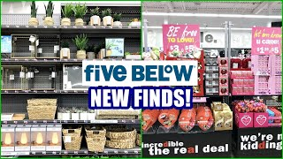 FIVE BELOW NEW FINDS SHOP WITH ME 2021! ROOM DECOR, VALENTINES ITEMS