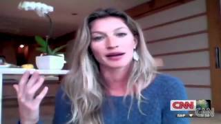 Gisele Bundchen for CNN