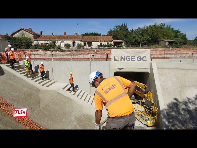Luçon : les travaux prennent forme sur la ligne Nantes-Bordeaux