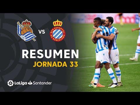 Real Sociedad Espanyol Goals And Highlights