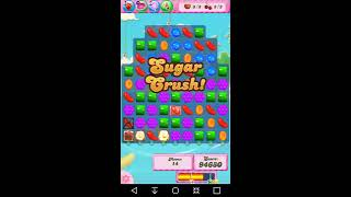Candy Crush Level 1639 Completed no boosters 3 stars