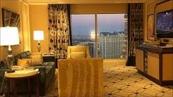 "Las Vegas BELLAGIO Premier Fountain View ""1Br Bellagio Suite"" - VIP Lounge - Blue Tram to Crystals"