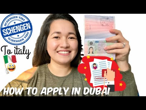 How To Apply Schengen Visa To Italy In Dubai |CKGS Application Center