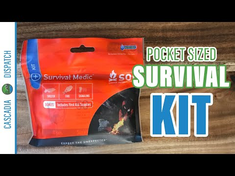 Pocket-Sized Emergency Kit | S.O.L. Survival Medic Kit Product Review | Prepping for Non-Preppers