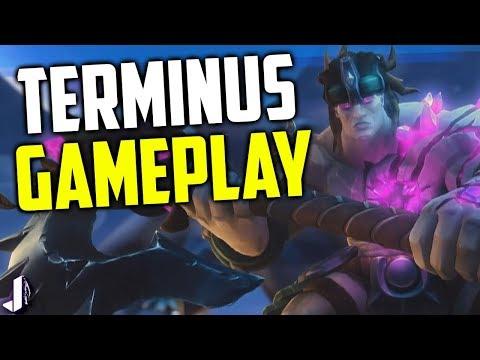Terminus Gameplay - Slamming his way to best Tank? Paladins OB61