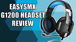 EasySMX G1200 Gaming Headset Review