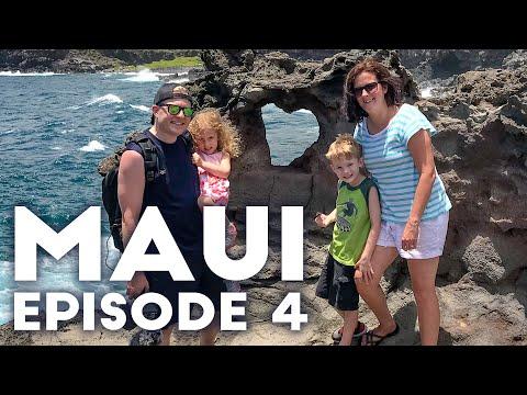 MAUI'S HEART SHAPED ROCK & NAKALELE BLOWHOLE   Maui 2019 Episode 4