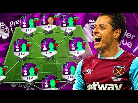 FROM LEVERKUSEN TO LONDON! WEST HAM CHICHARITO! THE FULL PREMIER LEAGUE TRANSFER SQUAD! FIFA 17