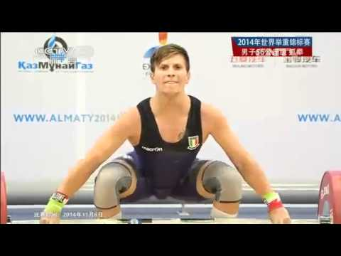 Men's 56 kg Snatch - 2014 World Weightlifting Championships, Almaty , KAZ - Part 1