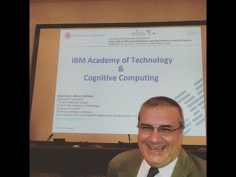 Domenico Chillemi (Nico) presenting IBMAoT & Cognitive at University of Abruzzo