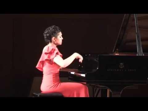 Ana Kipiani perfoms Balakirev- Islamey