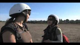 Flying Chick Trailer; 10 year old girl learns to fly a paraglider