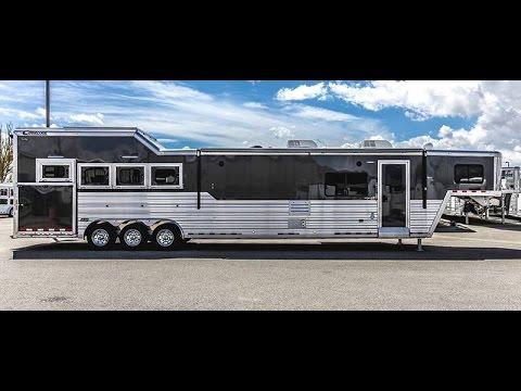2017 CIMARRON NORSTAR 4H GN LQ - Horse Trailer - Transwest Truck Trailer RV (Stock #: 5N161138)