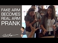 Hidden Arm Prank Surprise