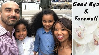 GOOD BYE LONDON 🇬🇧 | Travel Vlog | Traveling with kids | VISITING CAPE TOWN FOR 3 MONTHS | Africa