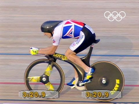 Chris Boardman wins Gold - Track Pursuit | Barcelona 1992 Olympics
