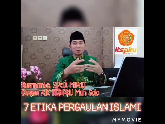 7 Etika Pergaulan Islami