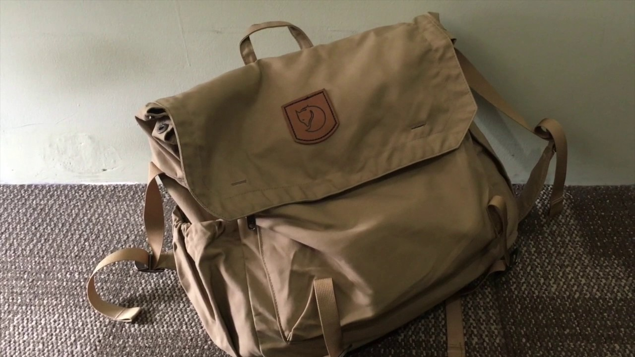 Review Shoulder Messenger Bag Fjallraven Foldsack No 2