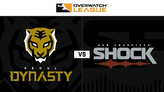 Winners Semi-Final | @Seoul Dynasty vs @San Francisco Shock | Grand Finals Weekend | Day 1