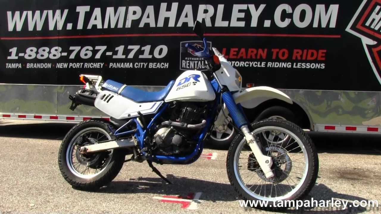 Used 2000 Suzuki DR650SEY On/Off Road Enduro   Motorcycle For Sale   YouTube