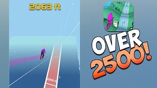 2500+ HIGHSCORE IN BIKES HILL BY VOODOO!