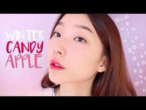 Winter Candy Apple Makeup