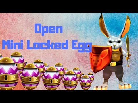 Arcane Legends - Open 200 Mini Locked Egg Of Bun - 2019
