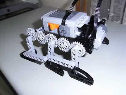 Lego Technic 6 Legs Bug Robot - YouTube