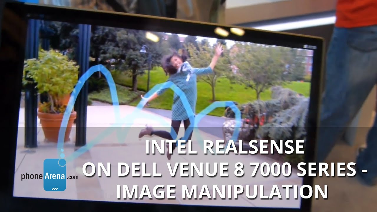Intel RealSense on Dell Venue 8 7000 Series
