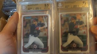 BECKETT GRADED CARDS RETURNED: Lots of Pristine 10
