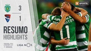 Highlights   Resumo: Sporting 3-1 Gil Vicente (Liga 20/21 #1)