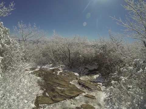 Appalachian Trail: EPIC Fail: Descending Blood Mountain in Snow & Ice