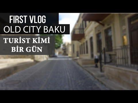 #VLOG | BAKU | OLD CITY | İNGİLS OLMADIĞIMIZI BİLDİLƏR!