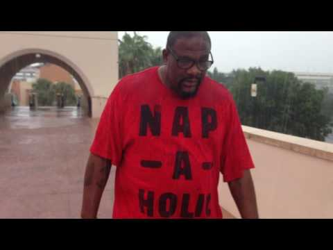 Walking In The Rain With Boxing Legend Riddick Bowe 2016 09/27/16