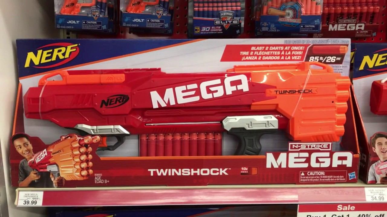 Toys R Us Nerf Guns : New nerf guns are out at toys r us nemesis regulator