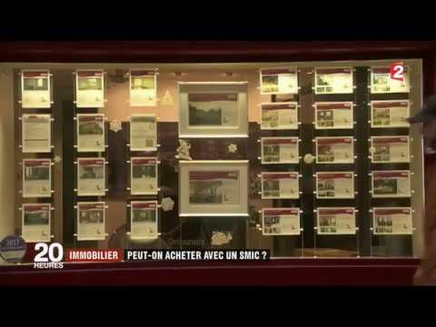 JT France 2 - 02/01/2018 - Immobilier : Peut-on devenir propriétaire avec un SMIC ?