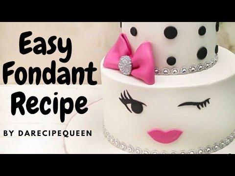 Download How to make Fondant ( Easy fondant recipe)
